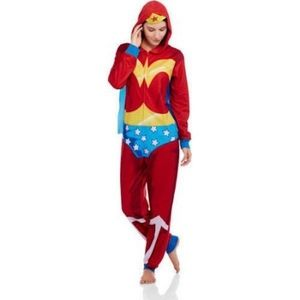Other - Wonder Woman Onesie with Cape